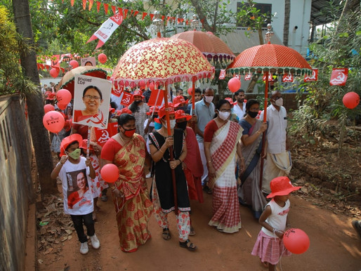 Victory in Kerala: Red Review #4 -- International Left and Labour News