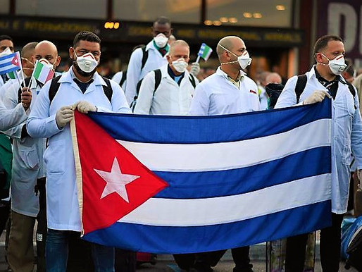 """During the pandemic Cuba """"has won the respect of millions of workers around the world."""""""