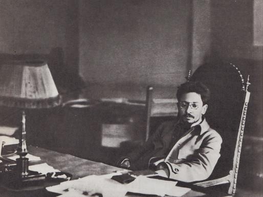 Yakov Sverdlov in his office, 1918