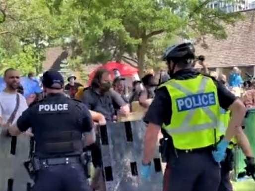 Police violence marks new low in Toronto's war on people experiencing homelessness