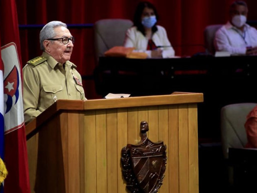Raúl Castro's Central Report to 8th Congress of the Communist Party of Cuba (excerpts)