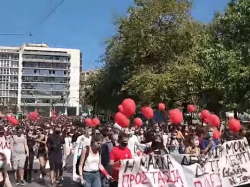 Students walk out demanding safer conditions in Montreal & Greece