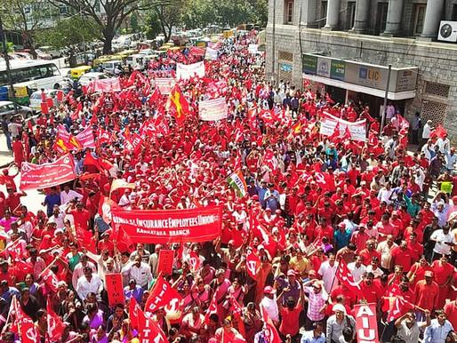 National General Strike called in India for November 26
