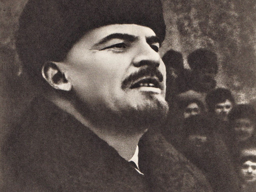 """Lenin: """"It is doubtful if in all history any man's hand left as deep a mark upon the world."""""""