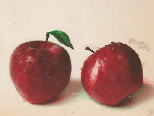 A Basketful of Apple Recipes -- Vintage Cookbook TBT