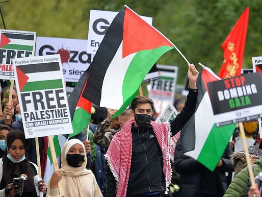 Solidarity with Palestine and Colombia: Red Review #5 -- International Left and Labour News