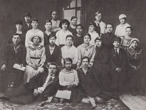 First meeting of the women workers organizing committee of the Tverskoy District RCP(b)