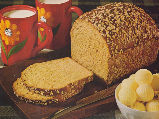 Homemade Bread Cook Book 1973 -- Vintage Cookbook TBT