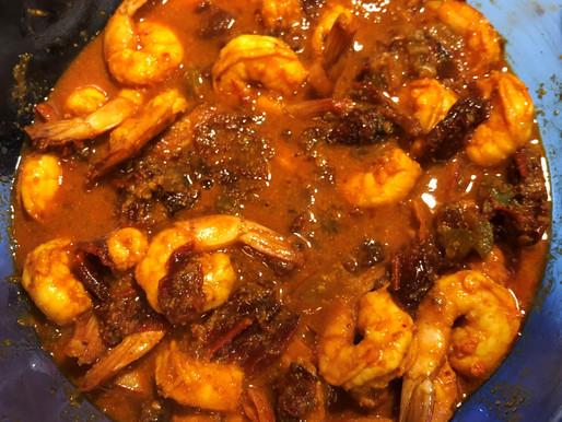 Spicy Chipotle Garlic Shrimp