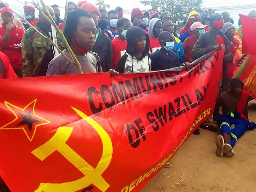 Communist Party of Swaziland issues call for international solidarity with the democratic uprising