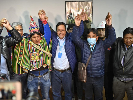 Huge victory for MAS in Bolivia