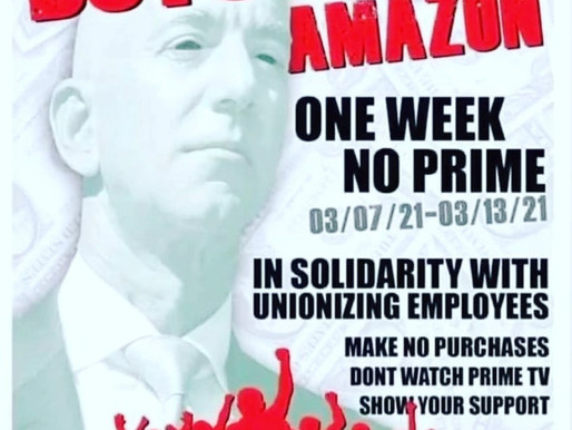 Amazon boycott in support of Alabama union drive starts March 7