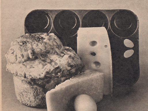 """Mme Benoit makes brioche, the """"Bread Like No Other"""" -- Vintage Cookbook TBT"""