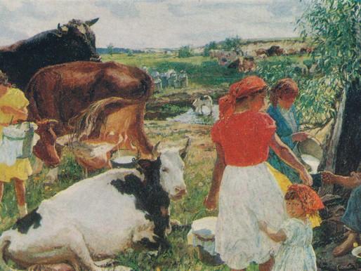 Summer, 1959-1960, Arkady Plastov (1893-1972) USSR