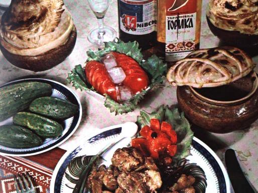 Soviet Life's Ukrainian Cuisine 1969 -- Vintage Cookbook TBT