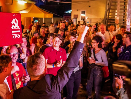 Communists win in Graz: Red Review #25 -- International Left and Labour News
