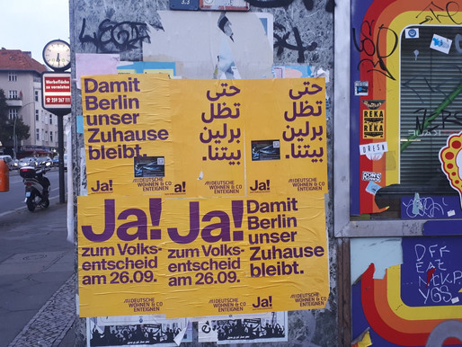 Ja! Berliners vote in favour of expropriating large landlords
