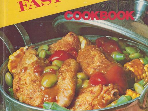 Family Circle Fast Meals Cookbook -- Vintage Cookbook TBT