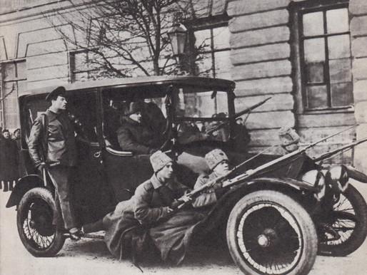 People's Militia arrest a czarist minister, Petrograd, February 28 1917