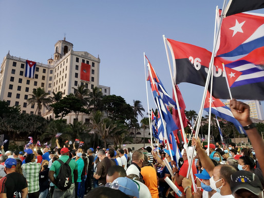 "UK union Unite condemns ""inhumane blockade imposed by the United States on Cuba"""
