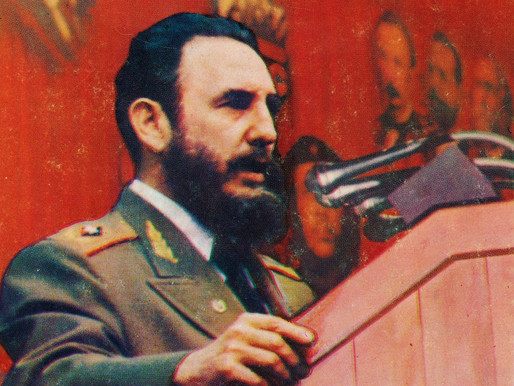 Castro speaks to the 2nd Congress of the Communist Party of Cuba, 1980