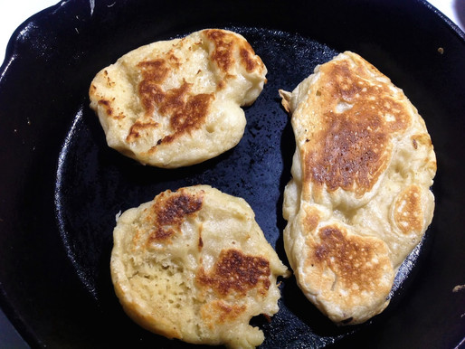 Cast Iron Pan Crumpets