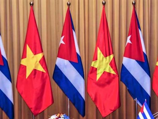 Cuba-Vietnam solidarity reaffirmed