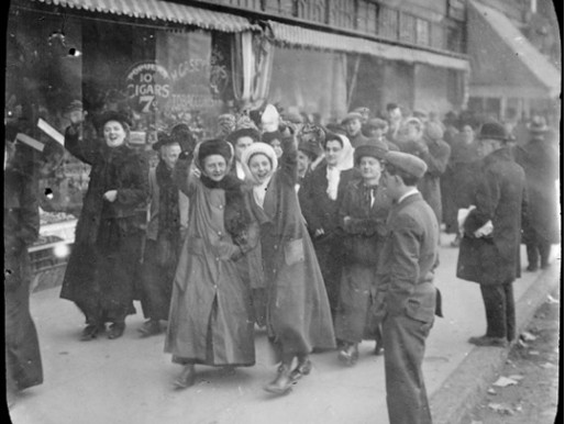 Bread and Roses Strike Begins, January 11, 1912