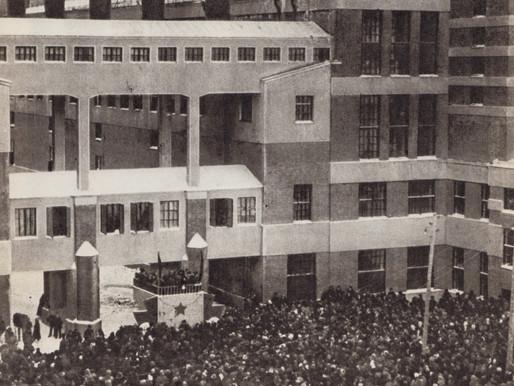 Grand opening of the Shaturskaya power plant, 1925