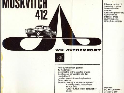 Soviet Moskvitch 412