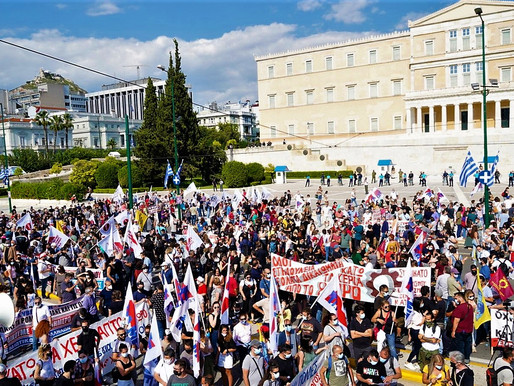 Greece Resists: Red Review #10 -- International Left and Labour News