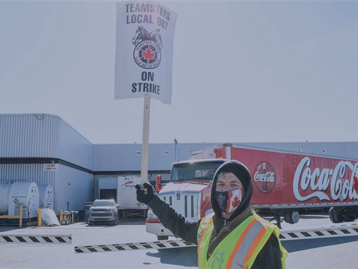 Teamsters, Alberta Federation of Labour call for boycott of Coca-Cola products