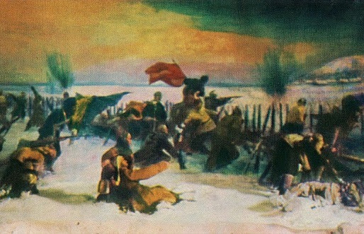 Red Forces Win at the Battle of Volochayevka, February 12, 1922