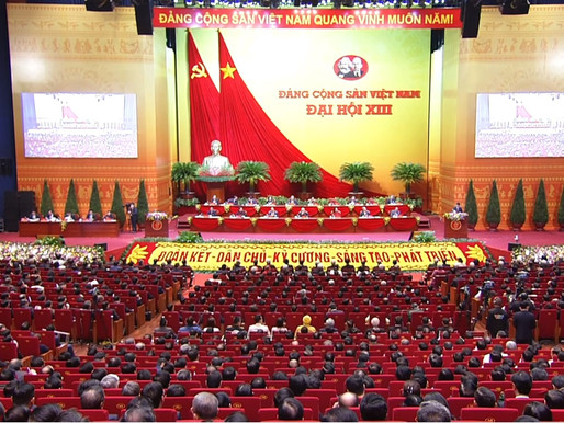 Highlights from the 13th National Party Congress of the CPV