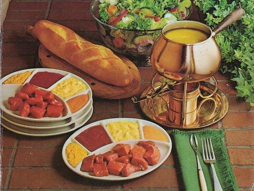 The Fondue Cookbook -- Vintage Cookbook TBT