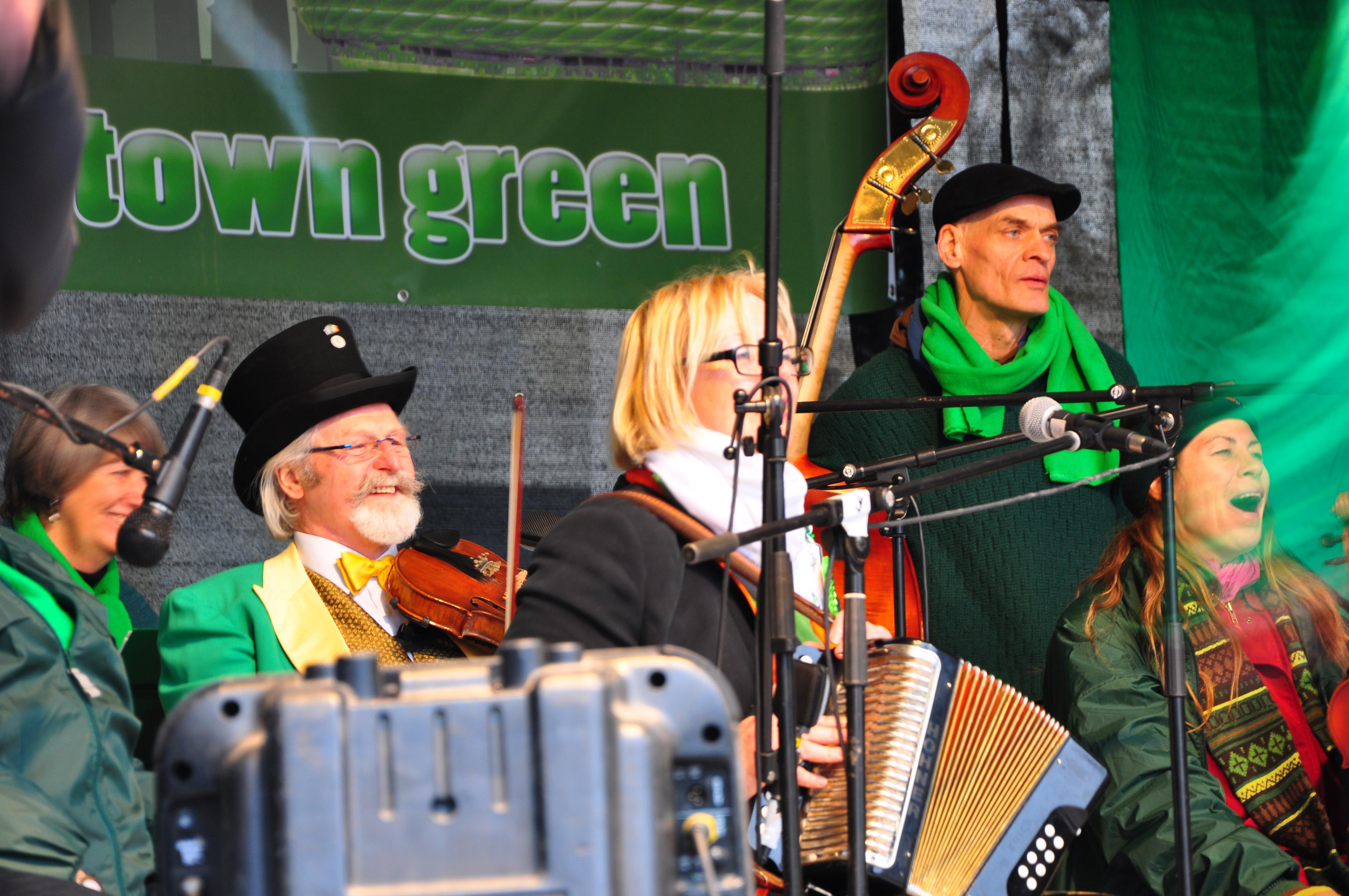 St Patricks Day Ceili Band Munich