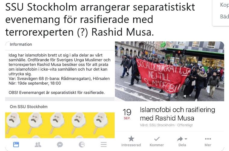 Socialdemokratiskt rasistmöte
