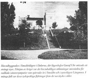 Smedsbo, Sveriges andra koncentrationsläger