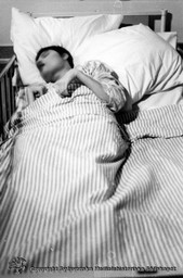 Sängbunden patient på Vipeholms sjukhus