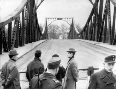 Gränsbron Glienicker Brucke där Gary Powers utväxlades mot spionen Rudolf Abel 1962