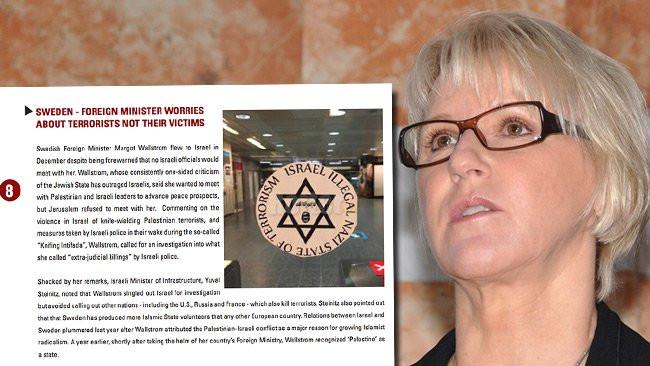 Margot Wallström, när är anständighetens gräns är nådd? Nästa gång det behövs fler synonymer för judehat och antisemitism kan vi lägga till ditt namn!
