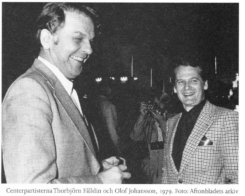 Thorbjörn Falldin (C) & olof Johansson (C), sexköpare