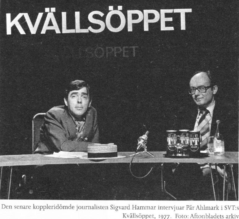 Sigvard Hammar, sexköpare