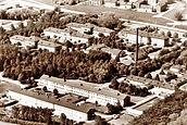 Flygfoto över Vipeholms sjukhus på 1960-