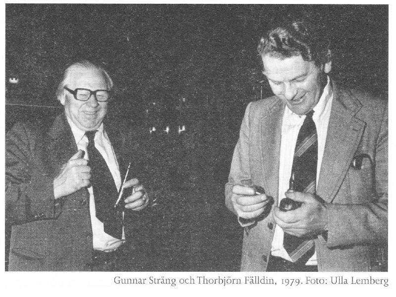 Gunnar Sträng & Thorbjörn Fälldin, sexköpare