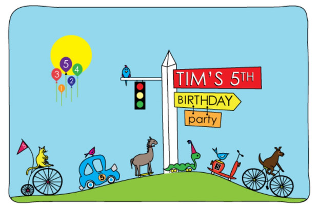 tims birthday party