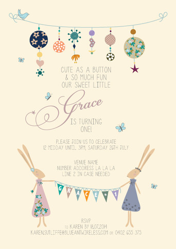 Grace turns One