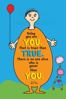eggboy - illustrated dr seuss quote