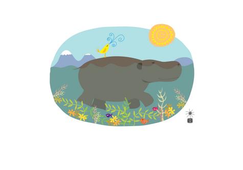 Hippo Birdie