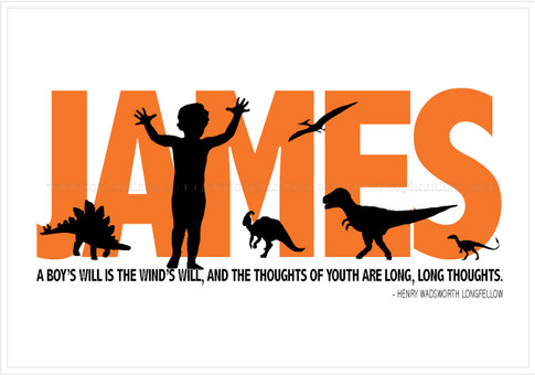 James and Dinosaurs
